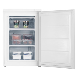 Fridgemaster MUZ5582A2 55cm Undercounter Freezer in White A Rated