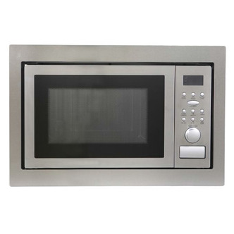 Montpellier MWBI90025 Built In Microwave Oven Grill in St Steel 900W 2