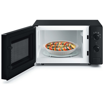 Hotpoint MWH101B Solo Microwave Oven in Black 20 Litres 700W