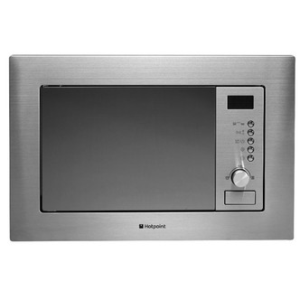 Hotpoint MWH122 1X Built In Microwave Oven in Stainless Steel 20L