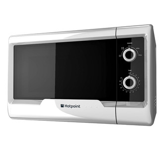 Hotpoint MWH2011MW Solo Microwave Oven in White 20 Litres 700W