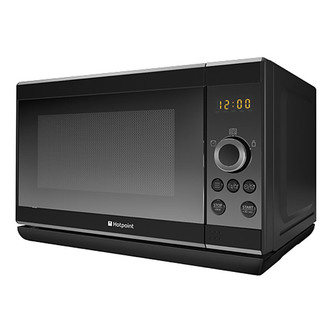 Hotpoint MWH2021B Solo Microwave Oven in Black 20 Ltrs 800W