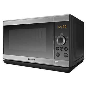 Hotpoint MWH2021X Solo Microwave Oven in Inox 20 Ltrs 800W