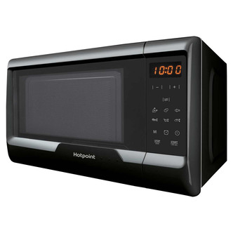Hotpoint MWH2031MB0 Solo Microwave Oven in Black 20 Litre 700w