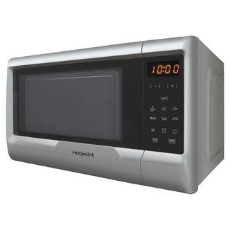 Hotpoint MWH2031MS0 Solo Microwave Oven in Silver 20 Litre 700w