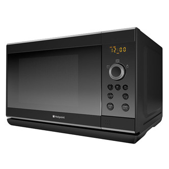 Hotpoint MWH2322B Microwave Oven with Grill in Black 23 Ltrs 800W 1000