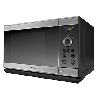 Hotpoint MWH2322X Microwave Oven with Grill in Inox 23 Ltrs 800W 1000W