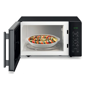Hotpoint MWH251B Solo Microwave Oven in Black 25 Litres 900W