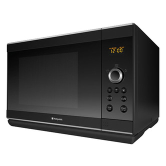 Hotpoint MWH2824B Combination Microwave Oven in Black 28 Ltrs 900 1100