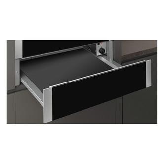 Image of Neff N1AHA01N0B Built In 14cm Warming Drawer in Black Stainless Steel