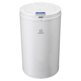 Indesit NISDP429 4kg Freestanding Spin Dryer With Pump Drain - White