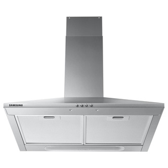 Image of Samsung NK24M3050PS 60cm Chimney Hood in St Steel 3 Speed Fan D Rated