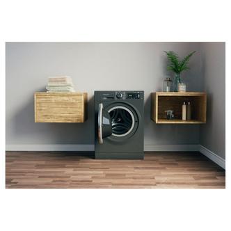 Hotpoint NLLCD1064DGD Washing Machine in Dark Grey 1600rpm 10Kg C Rate