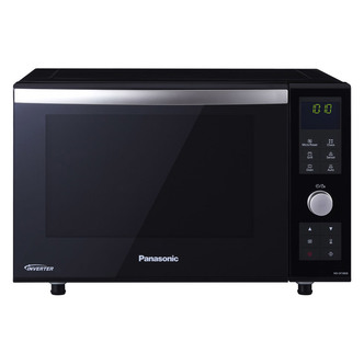 Panasonic NN DF386BBPQ Flatbed Combination Microwave Oven in Black 23L