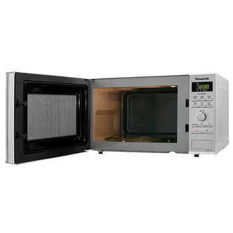 Panasonic NN SD27HSBPQ Solo Inverter Microwave Oven in St Steel 23L 10