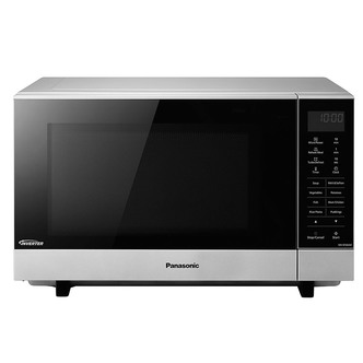 Panasonic NN SF464MBPQ Solo Flatbed Microwave Oven in Silver 27 Litre