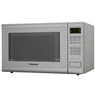 Panasonic NN ST462MBPQ Solo Sensor Inverter Microwave Oven in Silver 3