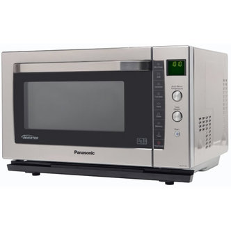 Panasonic NN CF778SBPQ Flatbed Combination Microwave Oven in St Steel