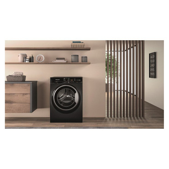 Hotpoint NSWF742UBS Washing Machine in Black 1400rpm 7Kg E Rated