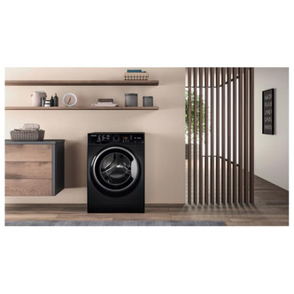 Hotpoint NSWF743UBS Washing Machine in Black 1400rpm 7Kg D Rated
