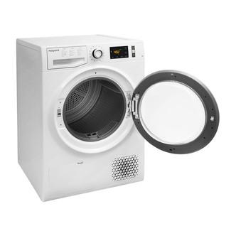 Hotpoint NTM1182XB 8kg Heat Pump Condenser Tumble Dryer in White A Rat