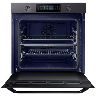 Samsung NV75K5571RM Built In Electric Pyrolytic Oven in Black Steel 75