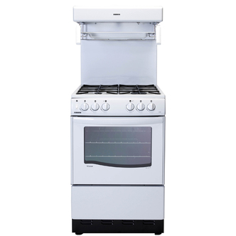 New World NW55THLG WH 55cm High Level Grill Gas Cooker in White FSD