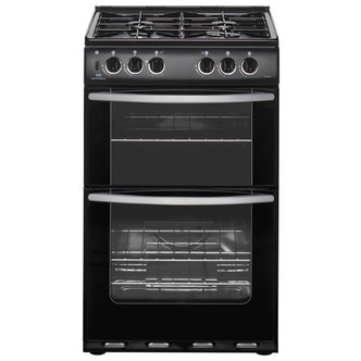 New World 444445702 55cm LPG Gas Cooker in Black