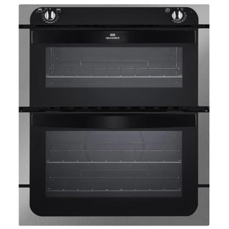 Cookers & Ovens New World 444441485 Built Under Electric Double Oven in Stainless Stee