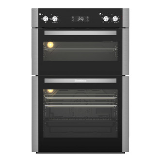 Image of Blomberg ODN9302X Built In Electric Double Oven in Stainless Steel