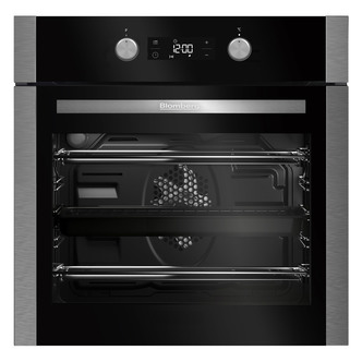 Image of Blomberg OEN9302X Built In Electric Fan Oven in Stainless Steel LED Di