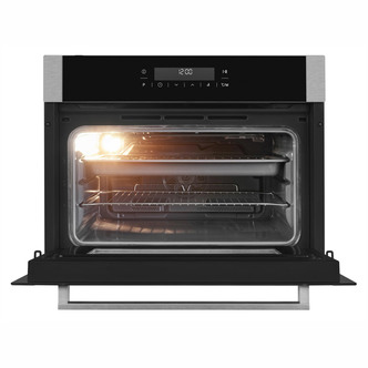 Image of Blomberg OKW9440X Built In Microwave Oven Fan Oven in Stainless Steel