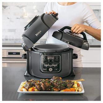 Image of Ninja OP300UK Foodi 7 in 1 Multi Cooker in Black 6 Litre
