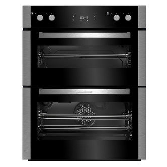 Image of Blomberg OTN9302X Built In Under Double Oven in St Steel LED Display