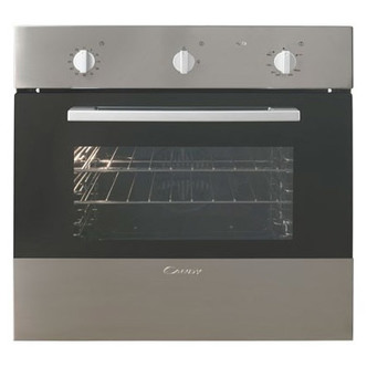 Image of Candy OVG505 3X 60cm Gas Single Oven in St Steel