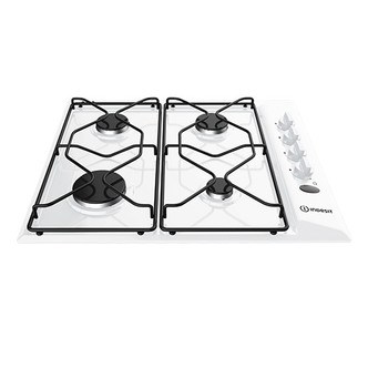 Indesit PAA642IWH 60cm Gas Hob in White Flame Failure Device