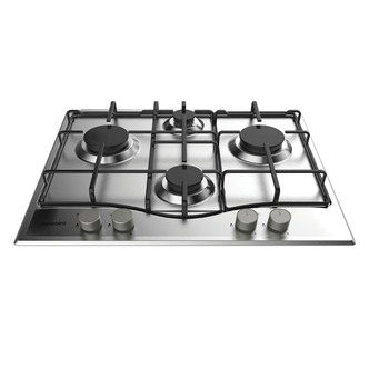 Hotpoint PCN642BIXH 60cm Gas Hob in Stainless Steel FSD