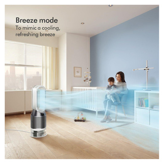 Dyson PH01 Purifier And Humidifier in White Silver
