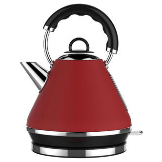 Image of Linsar PK117RED 1 7 Litre Pyramid Kettle in Red 3kW
