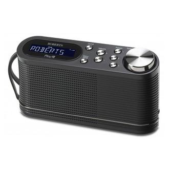 Roberts PLAY10 Play10 DAB DAB FM RDS Radio Black