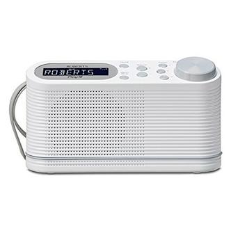Roberts PLAY10W Play10 DAB DAB FM RDS Radio White