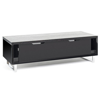 Techlink PM120B Panorama TV Stand in Black Oak for TV s up to 60