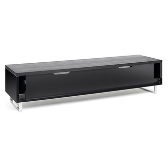 Techlink PM160B Panorama TV Stand in Black Oak for TV s up to 80