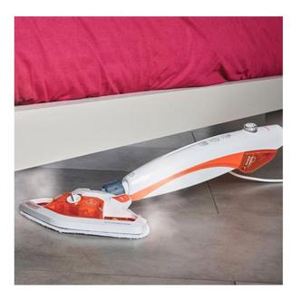 Polti PTGB0067 Vappretto Frescovapor Steam Mop White Orange