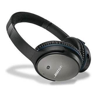 Bose QC25 BLACK QuietComfort 25 Noise Cancelling Headphones in Black