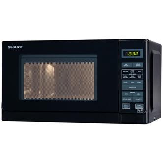 Sharp R272KM Standard Microwave - Black