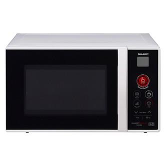 Sharp R291KM Compact Sensor Microwave Oven Black Silver 22L 800W