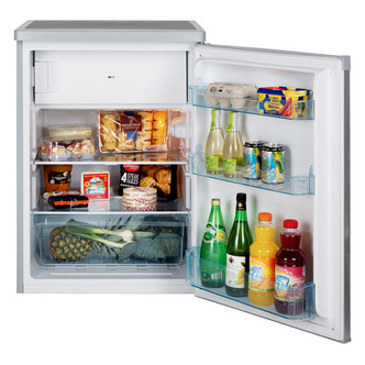 LEC R6014W 60cm Under Counter Fridge with Freezer Box in White A