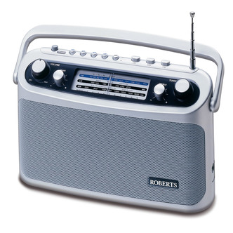Roberts R9928 Classic Analogue 3 Band Radio Mains Battery FM Preset