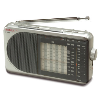 Roberts R9962 Analogue Worldband 12 Band Radio